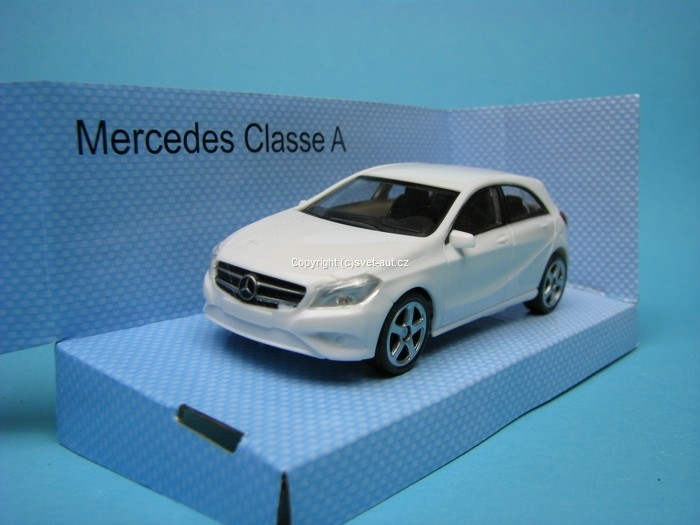 Mercedes-Benz A Classe White 1:43 Mondo Motors Fast Road